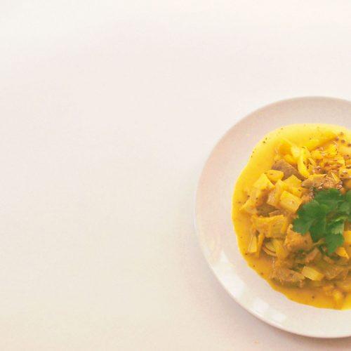 Ragoût de dinde aux agrumes et au fenouil