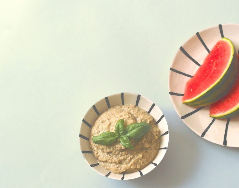 Caviar d'aubergines au tahin