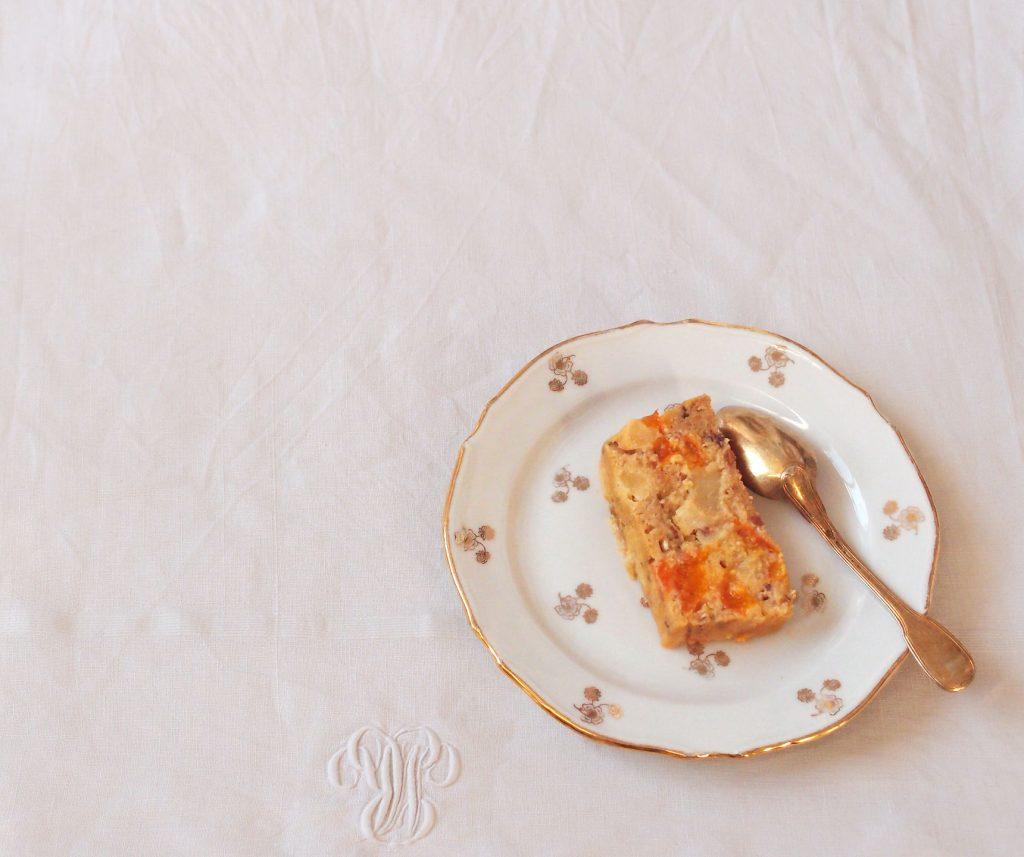 Gâteau aux abricots et aux pêches