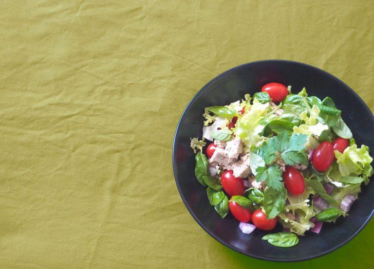 Salade au tofu fermenté