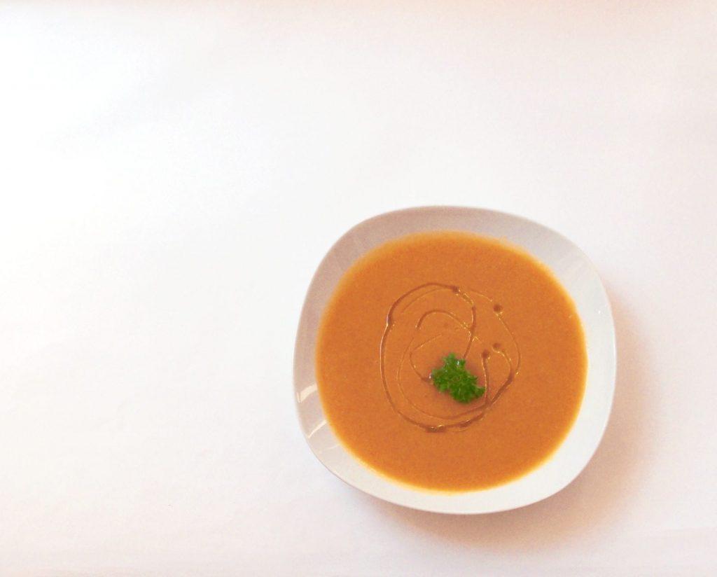 Soupe aux carottes et au potimarron